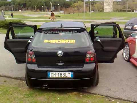 vw polo 9n spl black mamba full range youtube. Black Bedroom Furniture Sets. Home Design Ideas