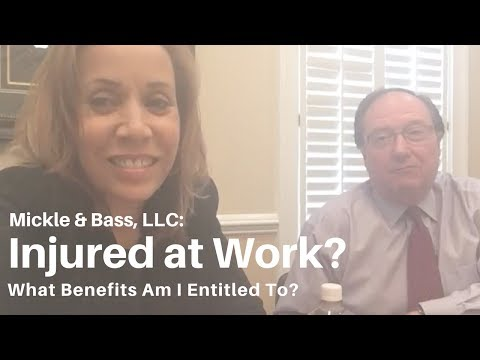 Injured at Work? What Benefits Am I Entitled To?