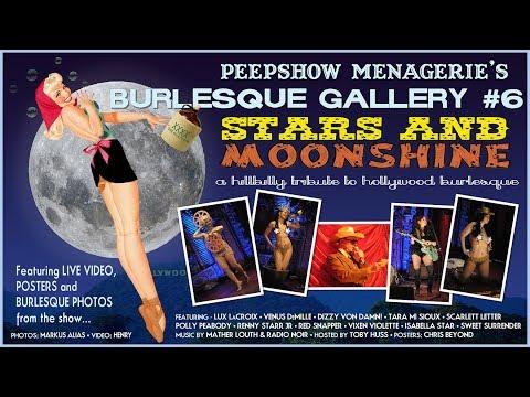 Peepshow Menagerie Burlesque Gallery #6: Stars & Moonshine