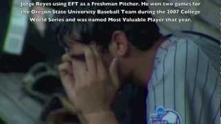 EFT being used on TV for Sports Performance · Jorge Reyers - Baseball · Daniel Hill EFT NLP Coach