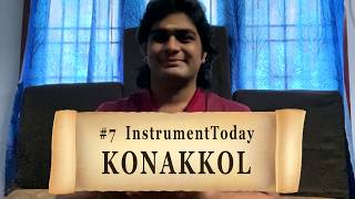 #7 INSTRUMENT-TODAY #instrumenttoday | Percussion Instruments Series | KONAKKOL | SarveshKarthick
