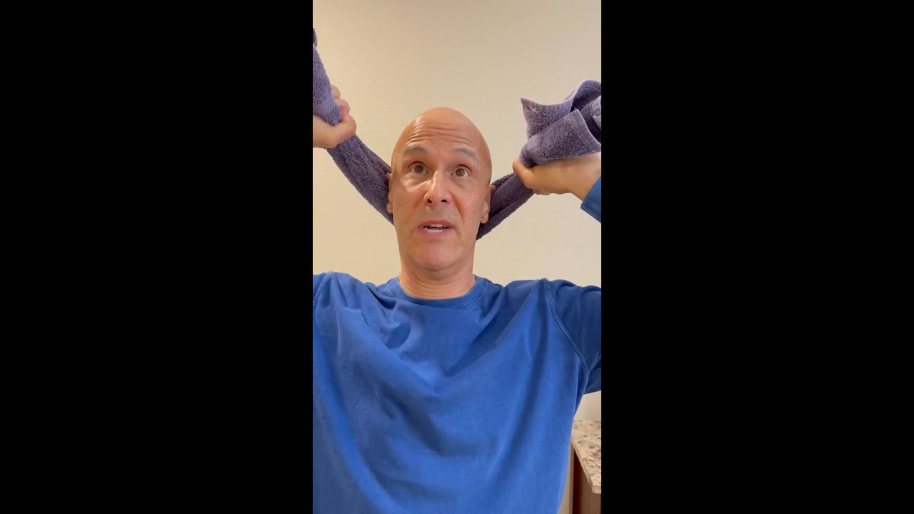 My Posture Neck Relief | Dr. Mandell  #shorts