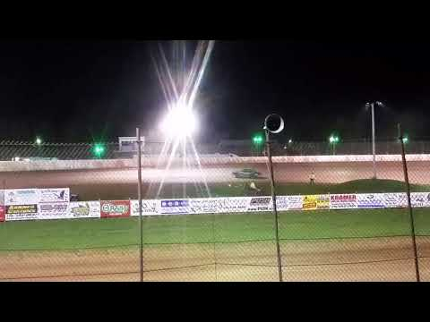 Pure stock feature @ Rice Lake Speedway 5/12/18