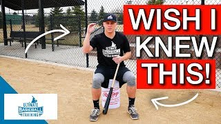 Baseball Wisdom I Wish I Knew As A Younger Baseball Player! (PART 1)