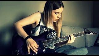Paramore - Crushcrushcrush guitar cover