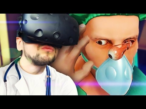 I SEE THE PROBLEM | Surgeon Simulator VR #3 (HTC Vive Virtual Reality)