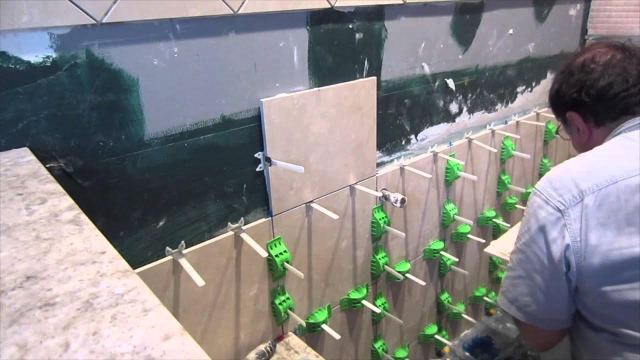 Time Lapse Mlt Tile Leveling System