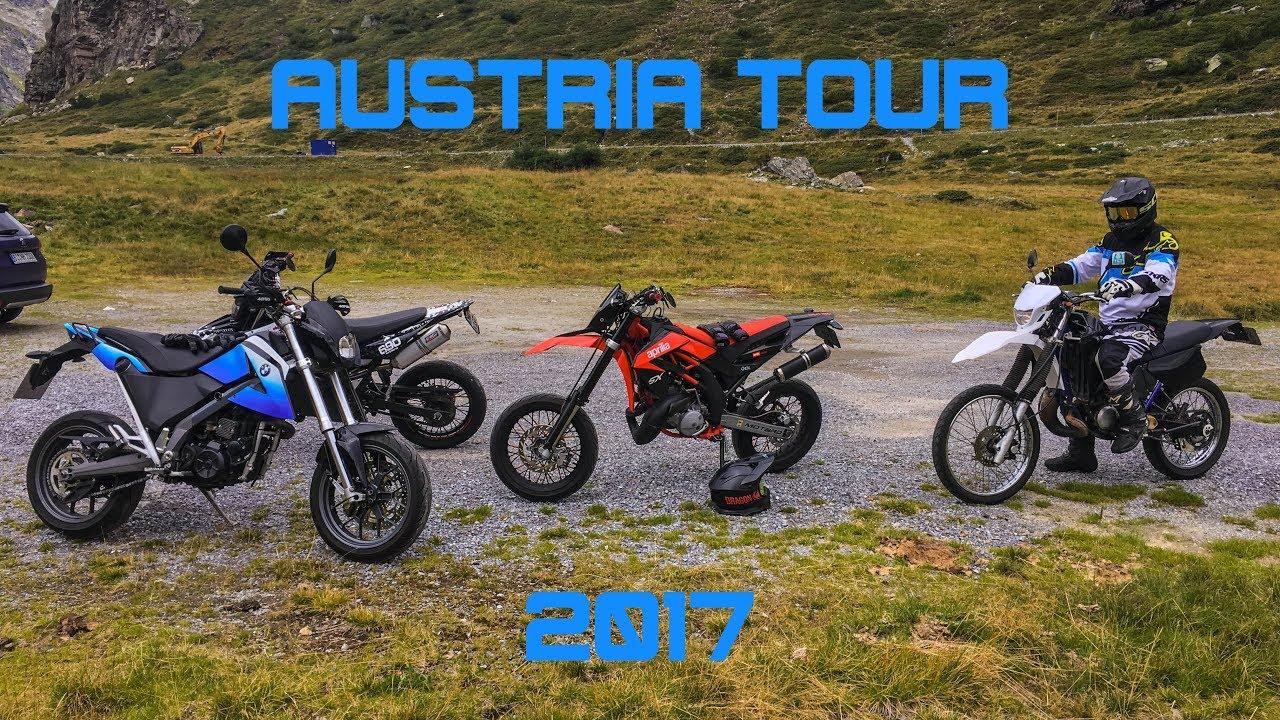 Austria Tour 2k17 Yamaha Wr125x Dt125r Aprilia Sx125
