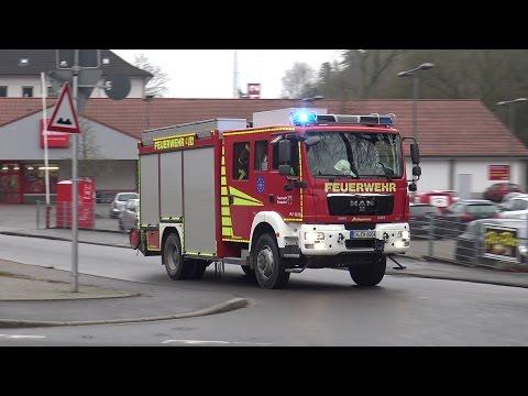 HLF, DLK & RTW Feuerwehr Ennepetal