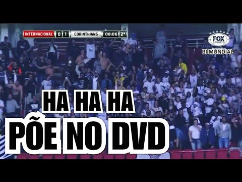 """PÕE NO DVD""- Narrador da FOX SPORTS vai a loucura com gol do Timão contra o Internacional"