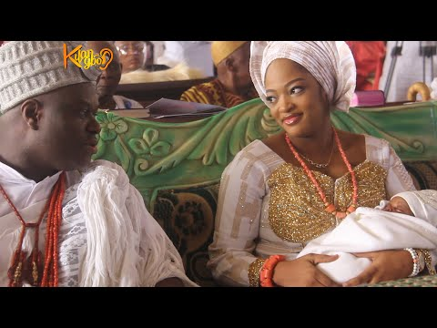 OONI OF IFE AND WIFE, QUEEN NAOMI TAKES SON TO CHURCH DEDICATES HIM TO GOD