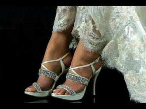 The most beautiful bridal shoes and evening shoes in the ...