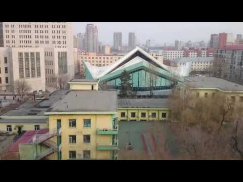 Harbin Institute of Technology (HIT) campus from my window