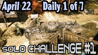 Solo 1 Challenge :: April 22 :: Daily 1 of 7 🞔 No Commentary 🞔 Ghost Recon Wildlands