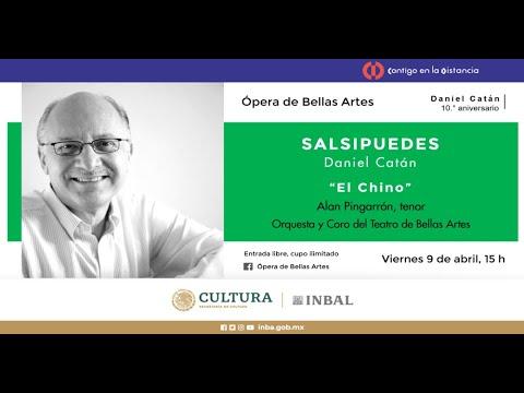 """""""El Chino"""". Ópera Salsipuedes, de Daniel Catán / Compañía Nacional de Ópera / INBAL / México"""