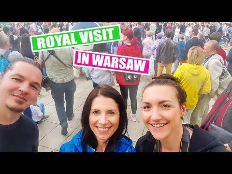 POLAND | Vlog 107 - Royal Welcome | WARSAW | PRINCE WILLIAM