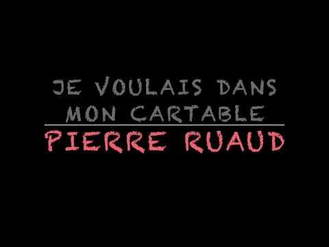 Poésie ...Pour La Rentrée ... Je voulais dans mon cartable ... 📚Pierre Ruaud📚