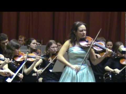Max Bruch. Violin Concerto No. 1 in G minor, Op. 26 Allegro moderato