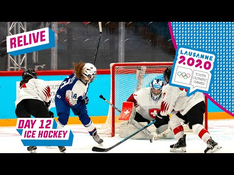 LIVE - Ice Hockey -  Slovakia vs Switzerland - Women's Bronze Medal Game - Day 12 | Lausanne 2020