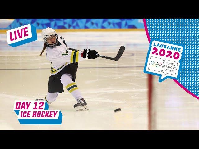 LIVE - Ice Hockey -  Slovakia vs Switzerland - Women's Bronze Medal Game - Day 12   Lausanne 2020