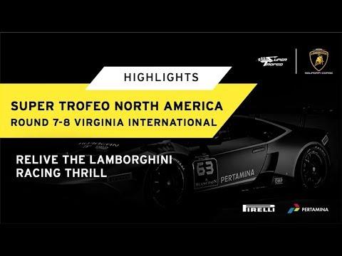 lamborghini super trofeo north america vir highlights youtube rh youtube com