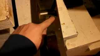 Making A Double Iron Beech Try Plane - Part 9b : An Alternative Bed Style