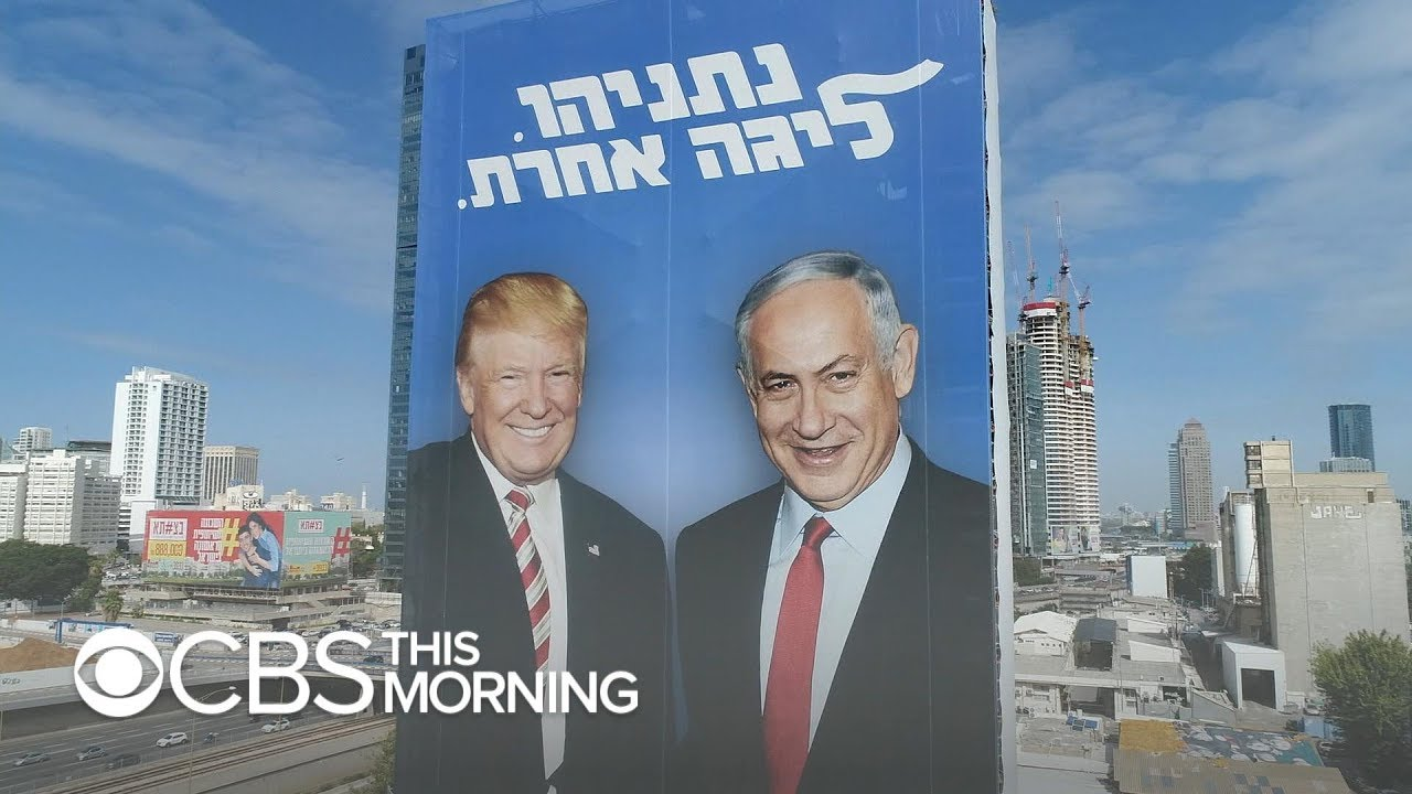 Ties to Trump and US loom large in tight Israeli election battle