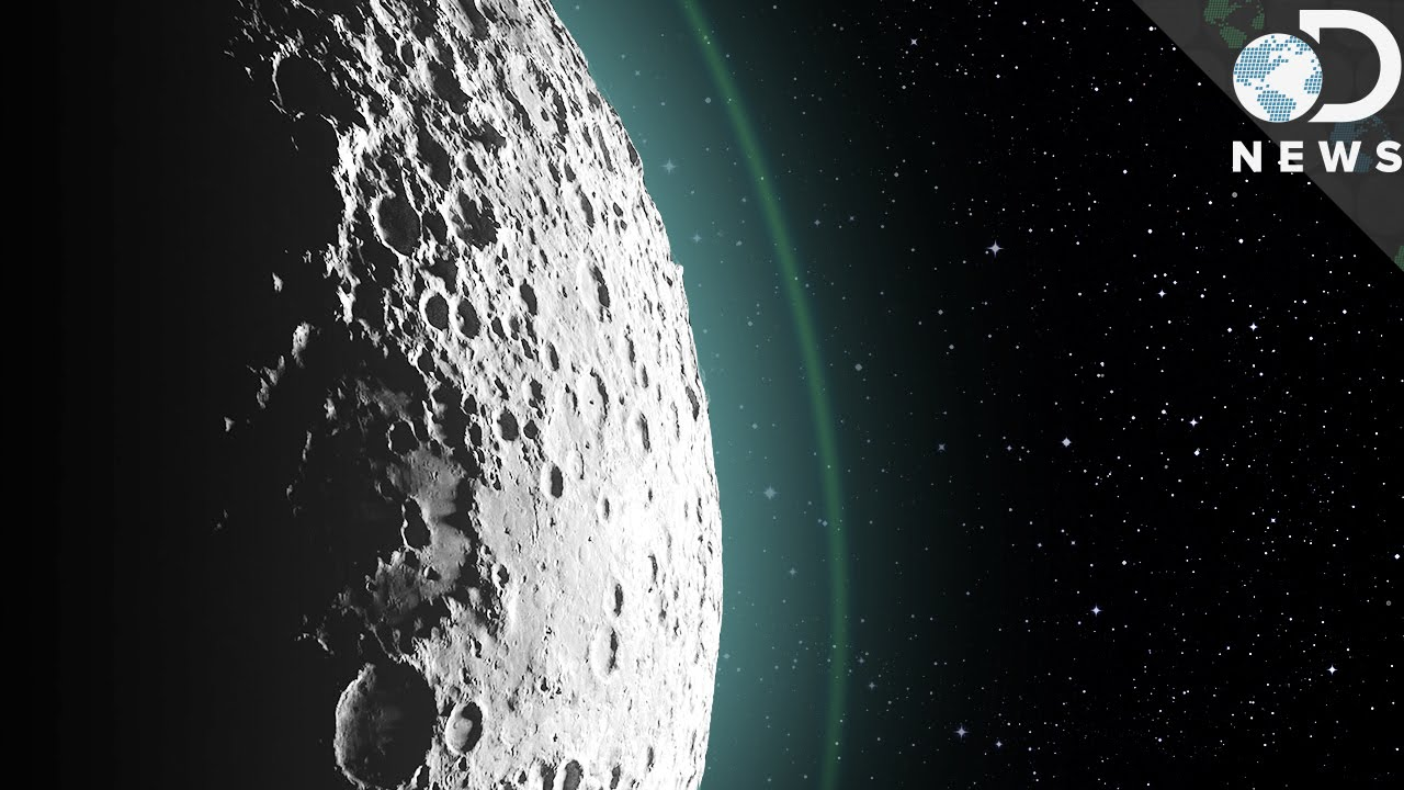The Moon Had a Thick Atmosphere Billions of Years Ago, NASA Study Finds