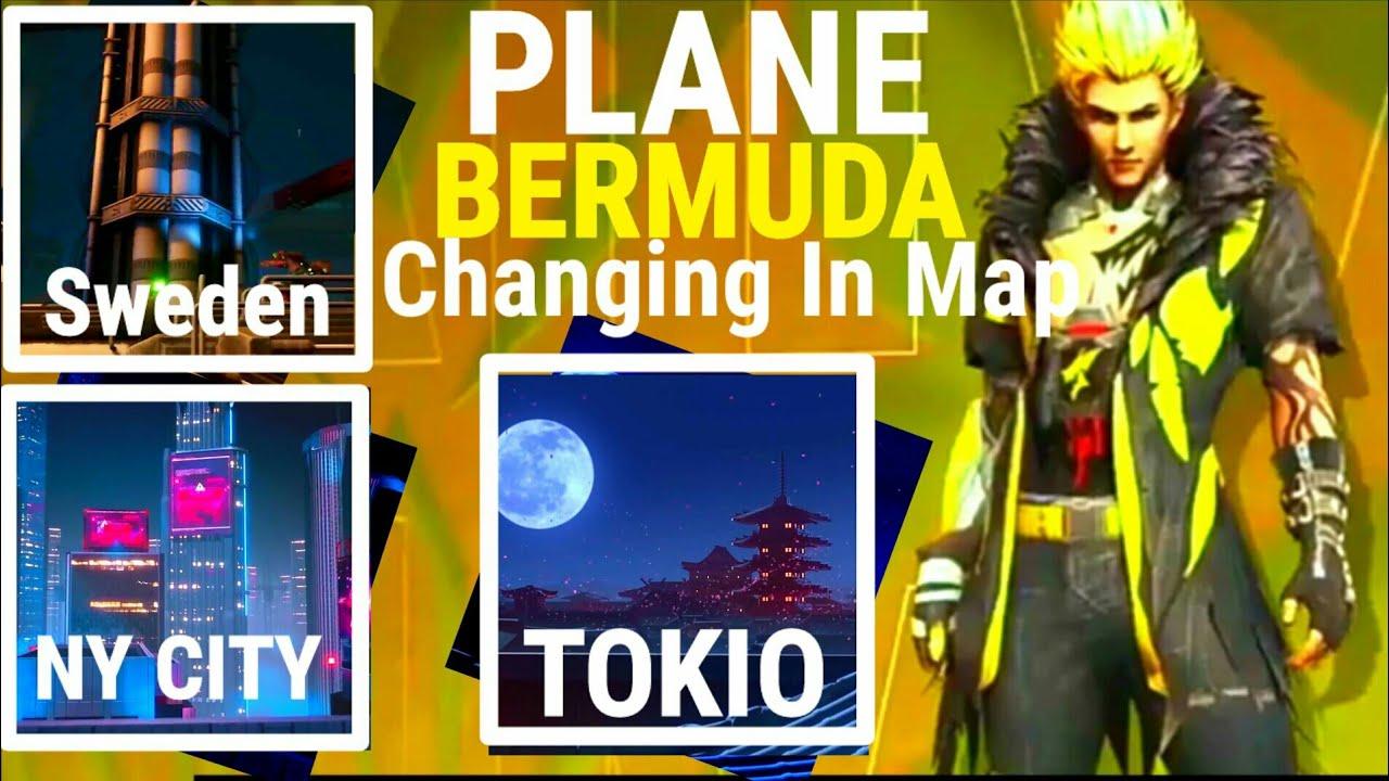 BERMUDA PLAN? New Places In Bermuda Map | Huge Changes? | OB25 | Garena Free Fire | PGG?