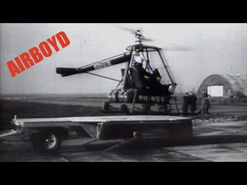 NHI Kolibrie Ramjet Helicopter (1957)