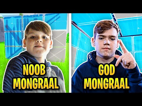 The Evolution Of Mongraal Editing & Building Speed...