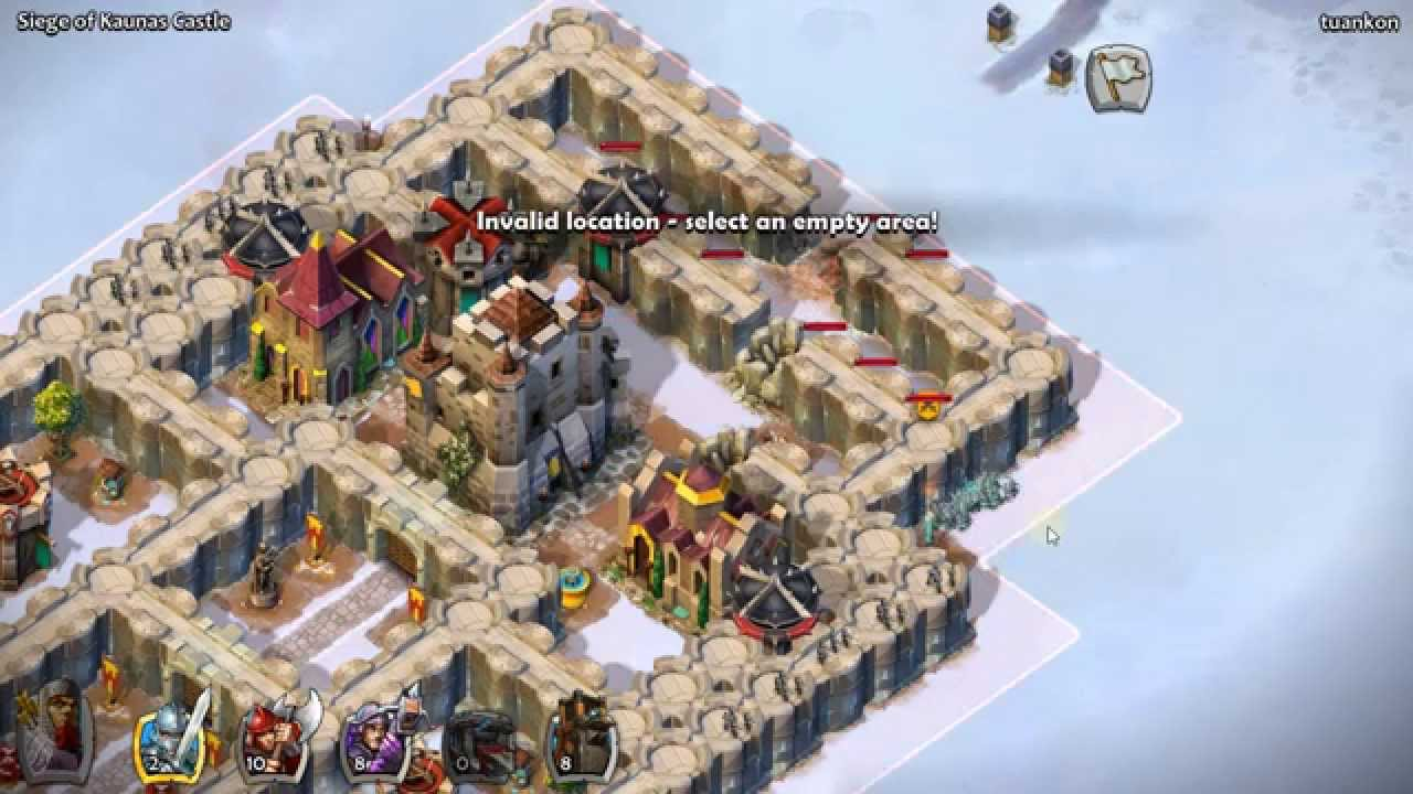Age of empires castle siege kaunas castle mission youtube