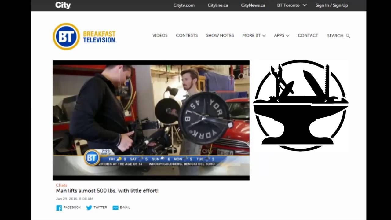 My Breakfast Television Interview