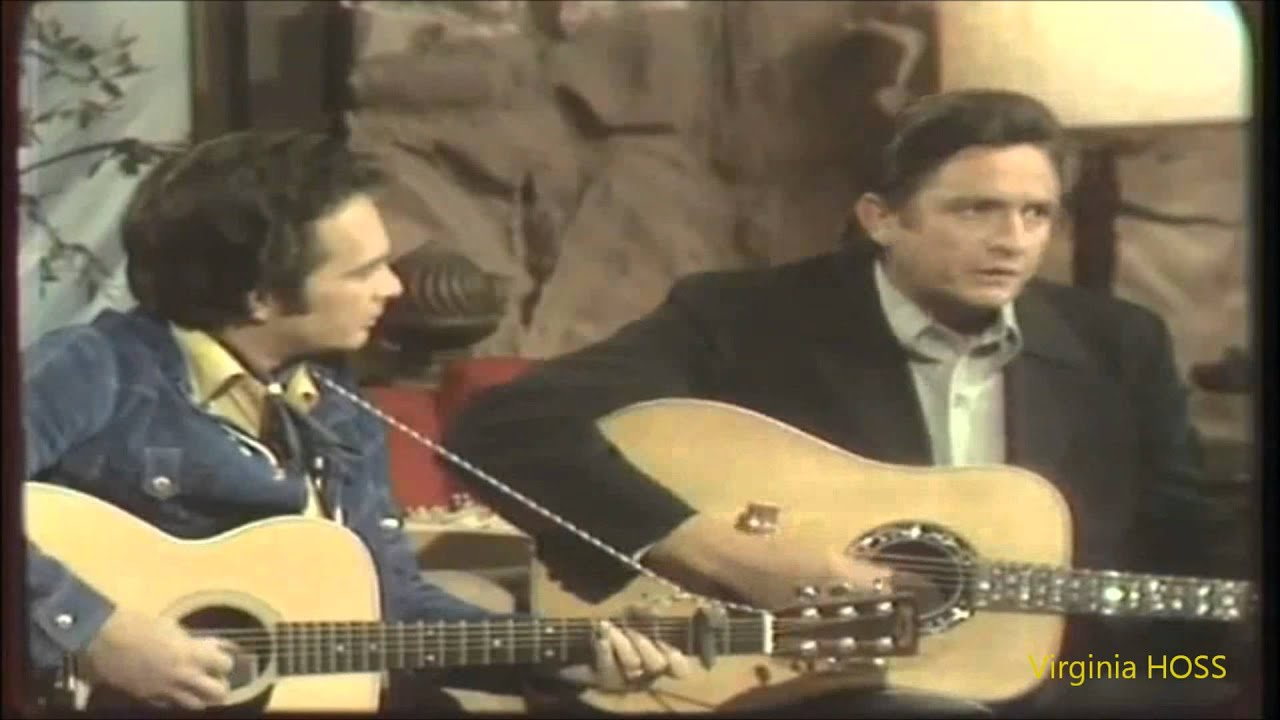 Merle haggard & Johnny Cash...