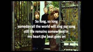Beady Eye - The Beat Goes On (Lyrics)