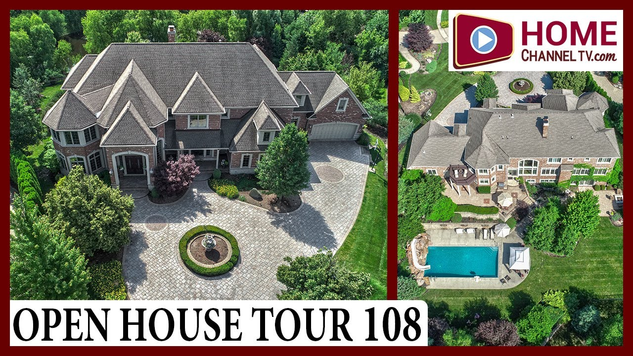 Open House Tour (108) - Incredible Luxury Designs Inside this 10,000 sf Custom Home