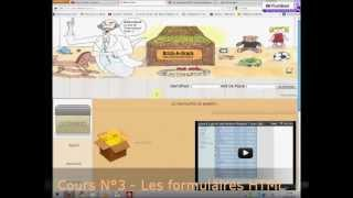 Cours N°3 - Les formulaires HTML.wmv