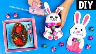 DIYs de Páscoa 🐰 Coelhinho Kawaii, Ovo de Colher na Caixa e Coelho de Lembrancinha