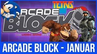 Arcade Block Januar - GOD FANGST! - Thomas Unboxer