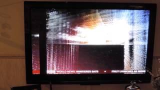 vertical bar on my LG PLASMA TV 60PG3000