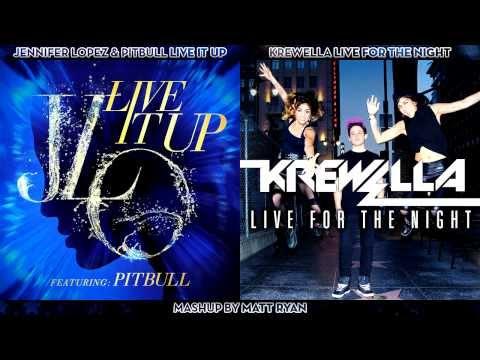Jennifer Lopez Vs. Krewella - Live It Up feat. Pitbull (Mashup)