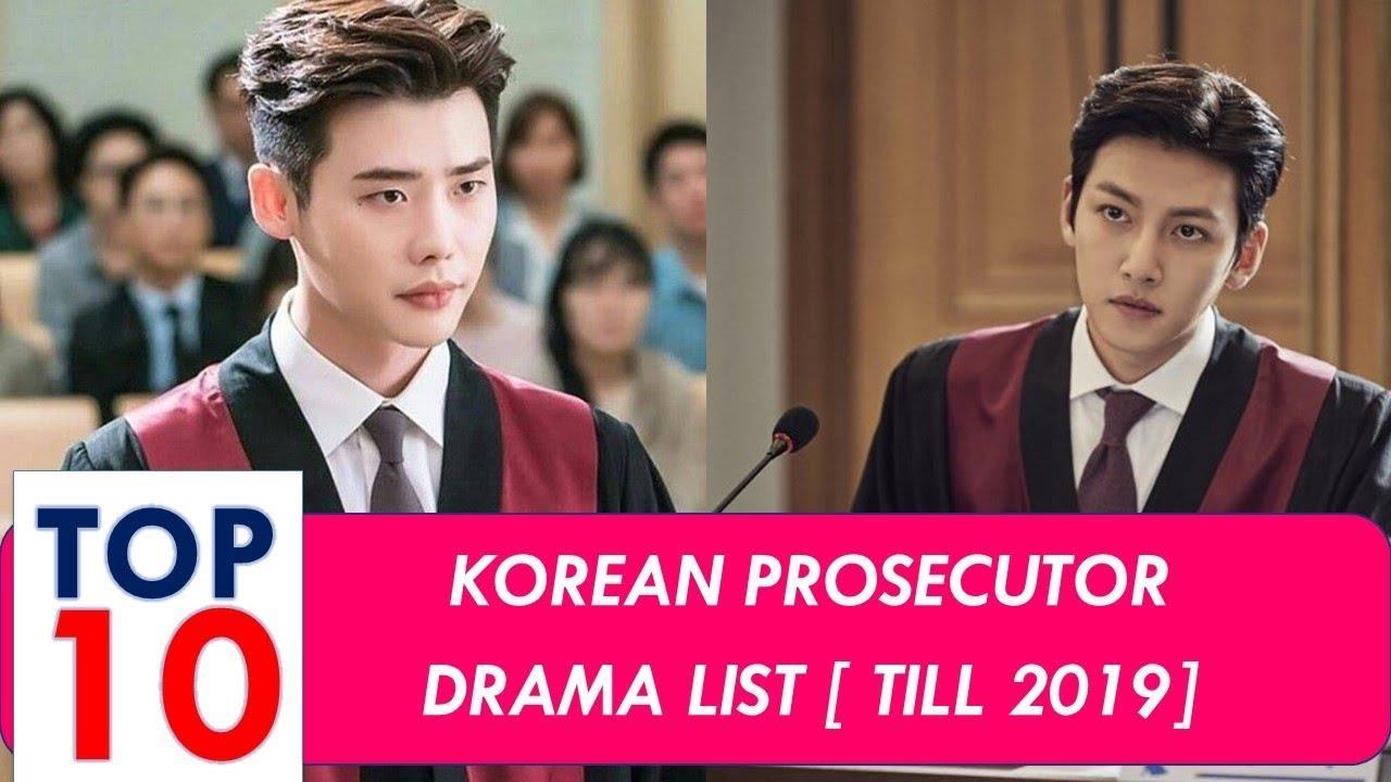 Korean Prosecutor Drama Top 10 List Youtube