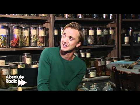 Tom Felton interview at Harry Potter Studio tour