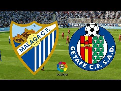 La Liga 2017/18 - Malaga Vs Getafe - 19/05/18 - FIFA 18