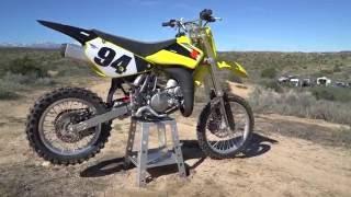2016 Suzuki RM85 Review - Dirt Rider 85cc MX Shootout