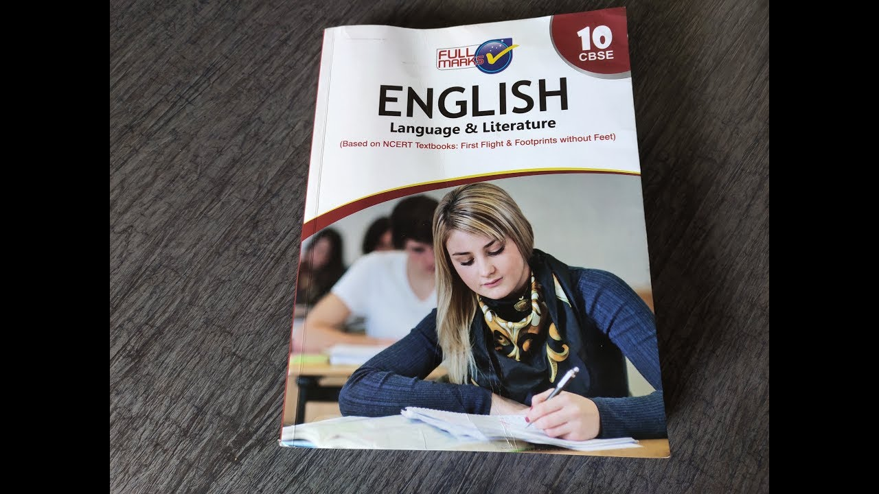 Full marks English language and literature for class 10 CBSE book review