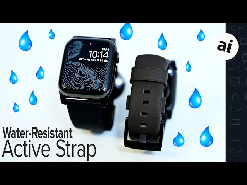 Review: Nomad Active Strap Is A Leather Apple Watch Band That Goes Everywhere! (SAVE 15%!)