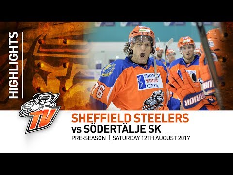 Sheffield Steelers v Södertälje SK - Pre-season - 12th August 2017