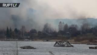 فرض حالة الطوارئ في كامل سيبيريا