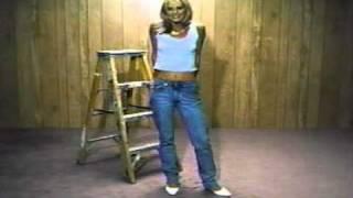 Karen Ferrari sexy Calvin Klein Jeans commercial BANNED!